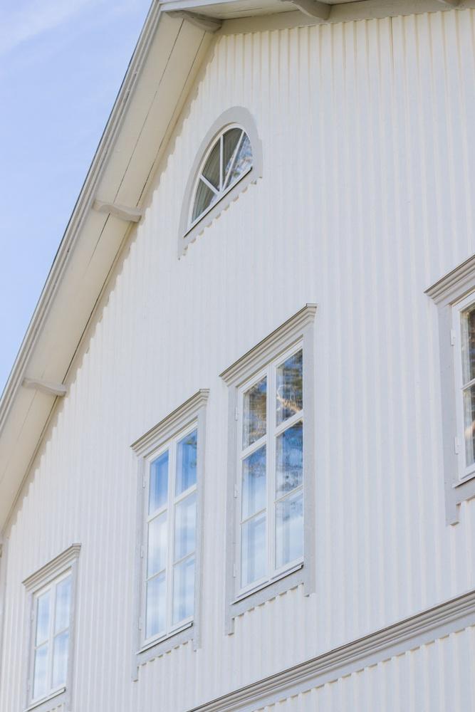 Midja På Gammalt Hus